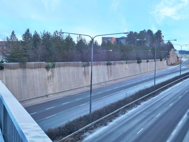 Turun moottoritie meluesteet