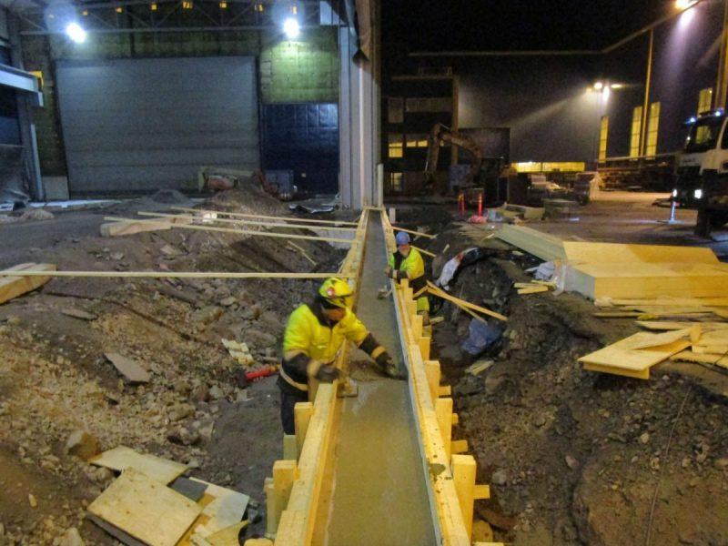 Meyerin telakka Turku 8-hallin laajennus