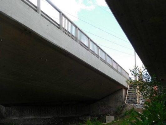 Pahaniemen silta, reunapalkin pinnoitus injektointi